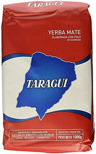 Taragui Yerba Mate Con Palo ( 5 Pack, Each Pack Is 2.2lb)