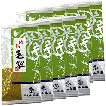 Japanese Tea Shop Yamaneen Japanese Tea Decocted Tea-Leaf Gyokusui 100G x 10packs