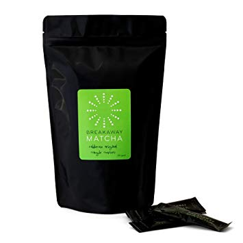 Matcha Tea To-go - Coldbrew Original Iced Green Tea Powder Single Serving Packets - 50 Pack
