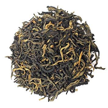The Tea Farm - Golden Monkey Black Tea - Yunnan, China Loose Leaf Black Tea (1 Pound Bag)